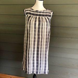 🍌Max Studio Womens Dress Size Small Cotton Stripe